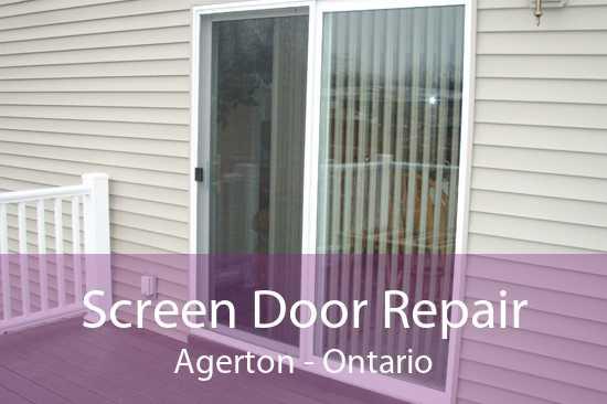 Screen Door Repair Agerton - Ontario