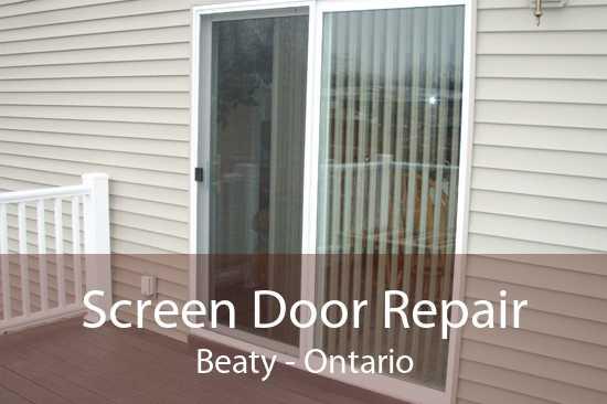 Screen Door Repair Beaty - Ontario