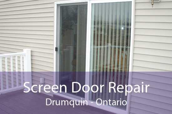 Screen Door Repair Drumquin - Ontario