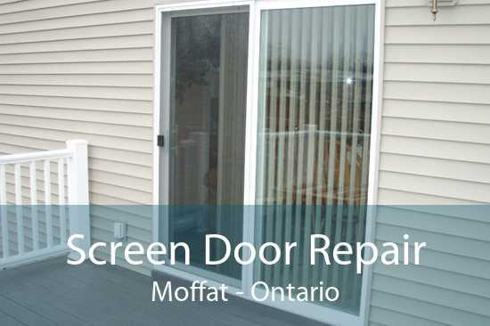 Screen Door Repair Moffat - Ontario