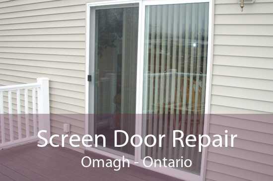 Screen Door Repair Omagh - Ontario