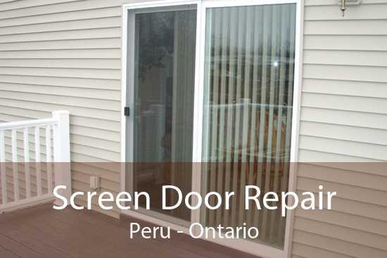 Screen Door Repair Peru - Ontario