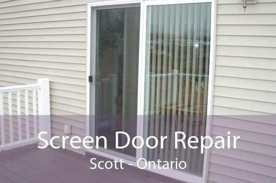 Screen Door Repair Scott - Ontario
