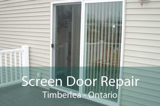 Screen Door Repair Timberlea - Ontario