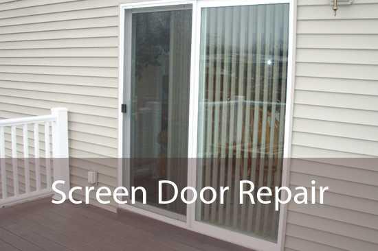 Screen Door Repair