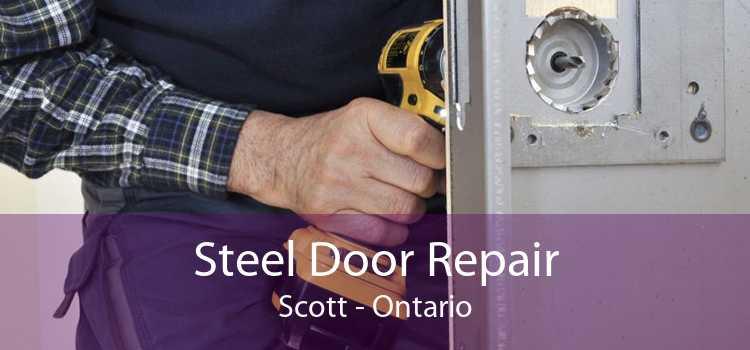 Steel Door Repair Scott - Ontario