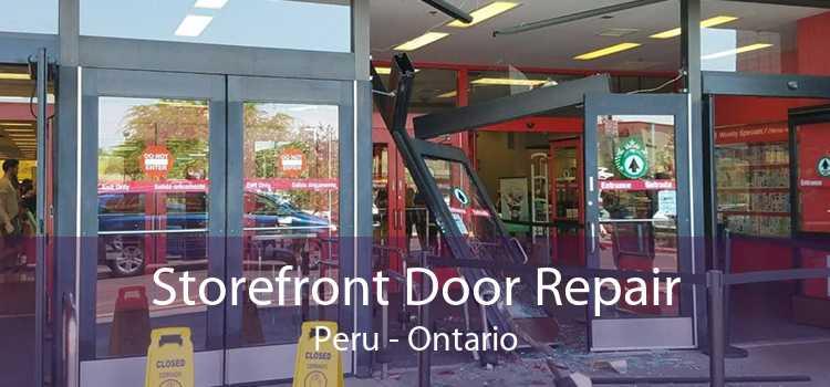 Storefront Door Repair Peru - Ontario