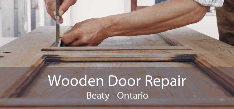 Wooden Door Repair Beaty - Ontario