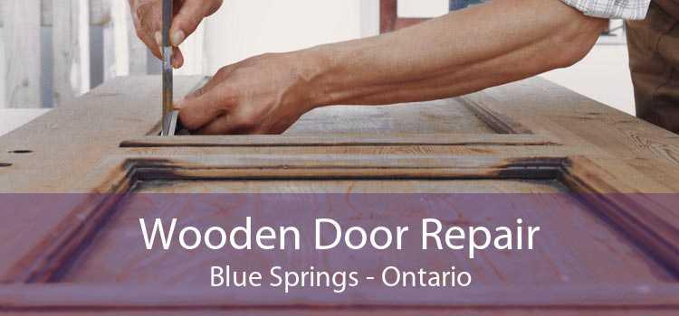 Wooden Door Repair Blue Springs - Ontario