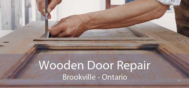 Wooden Door Repair Brookville - Ontario