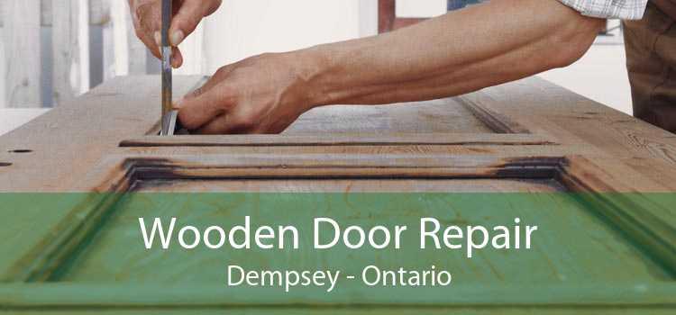 Wooden Door Repair Dempsey - Ontario