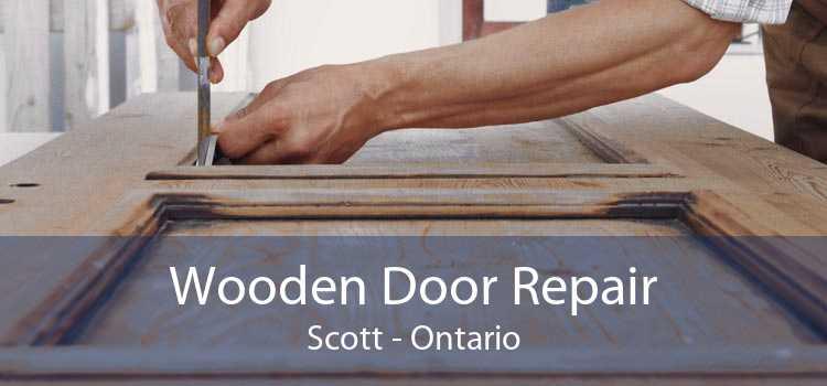 Wooden Door Repair Scott - Ontario