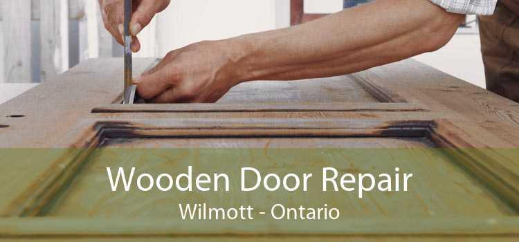 Wooden Door Repair Wilmott - Ontario